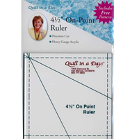 Quilttemplate Rulers Quiltliniaal