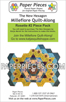 Rosette 2 The New Hexagon Millefiore Quilt-Along-Paper Pieces-Katja Marek