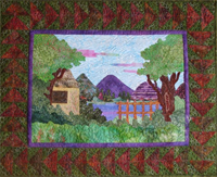 SAQS By the Lake Quilt Patroon