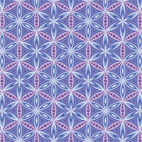Benartex 6191-55 Flower of Life Purple
