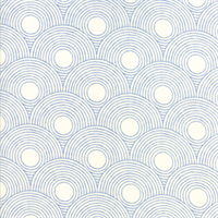 MODA 1623-11 Zen Chic True Blue Glacier Circles