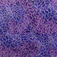 Blank Quilting 055-3795 Leaf Allover Iris