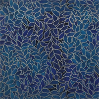 Blank Quilting 077-3795 Leaf Allover Indigo