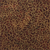 Blank Quilting 039-3795 Leaf Allover Espresso