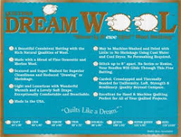 Quilters Dream Wol