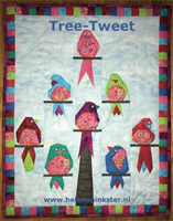 Patroon Heleen Pinkster Tree Tweet (retweet)
