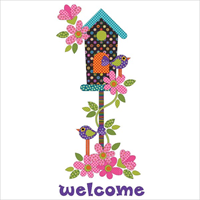 Applique Elementz Welcome Home Dotz