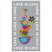 Applique Elementz Love is Love Dotz