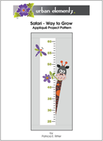 Applique Elementz Safari-Way to Grow-Dots