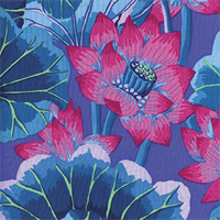 Kaffe Fassett PWGP-093 Lake Blossoms Blue