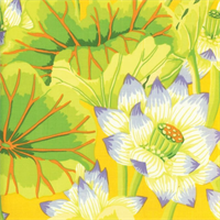 Kaffe Fassett PWGP-093 Lake Blossoms Yellow