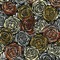 RJR 3513-1 Shiny Objects Precious Metals Candied Roses