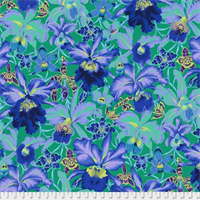 Philip Jacobs PWPJ-092 Orchids Blue
