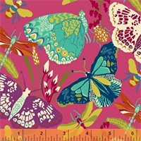 Windham Fabrics 50233-2 Butterfly Dance Pink