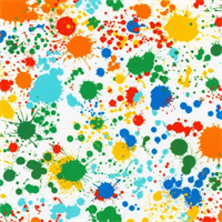 Robert Kaufman SRKXD-18147-195 Spatter Wide Bright