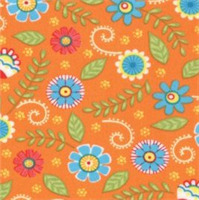 MODA 19453-14 Fresh Flowers Orange