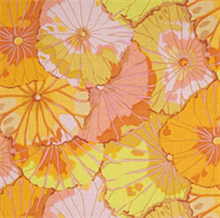 Kaffe Fassett PWGP-029 Lotus Leaf Yellow