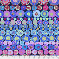 Kaffe Fassett PWGP-169 Row Flowers Bluex