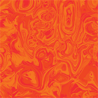 Benartex 1714-27 Marbella Rouge Orange