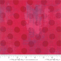 MODA 30149-023 Grunge Hits the spot Raspberry