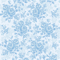 Benartex 1649W-05 Homestead Wilds Sky Blue