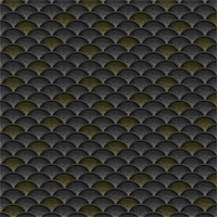 Hoffman Fabrics S#Q4519 Mixed Metals Black Metalic
