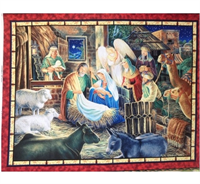 V.I.P. Exclusive, 1649-45741-RG Panel Away in a Manger
