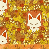 Windham Fabrics 51112-1 Forest Spirit Orange