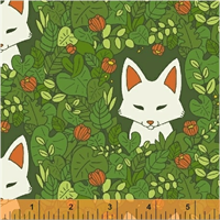Windham Fabrics 51112-2 Forest Spirit Green