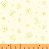 Windham Fabrics 51119-8 Forest Spirit Yellow Stripe