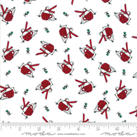 MODA 2941-14 Merry Merry Snow Days White
