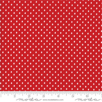 MODA 2948-11 Merry Merry Snow Days Red
