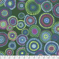 Kaffe Fassett PWGP-176 Mosaic Circles Green
