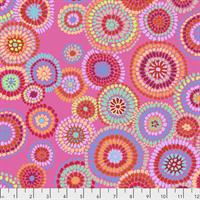 Kaffe Fassett PWGP-176 Mosaic Circles Pink