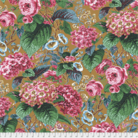 Philip Jacobs PWPJ-097 Rose and Hydrangea Ochre
