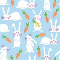 Paintbrush Studio 120-21509 Bunny Blue Carrot