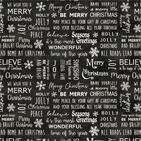 Windham Fabrics 6883-14 Believe in Magic Black