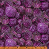 Windham Fabrics2556-010 Red Cabbage