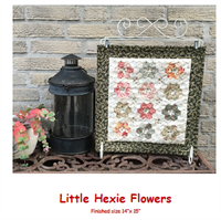 Little Hexie Flowers Stamp and Patch