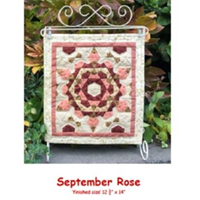 September Rose Stamp and Patch