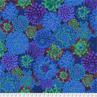 Philip Jacobs PWPJ-101 Blue Dancing Dahlias