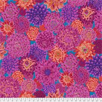 Kaffe Fasset PWPJ-101 Red Dancing Dahlias