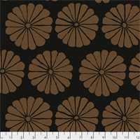 PWGP-183 Damask Flower Brown