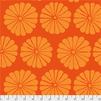 PWGP-183 Damask Flower Orange