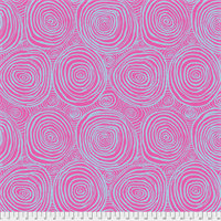 Kaffe Fassett QBBM-001 Oinion Rings Wide Back Pink