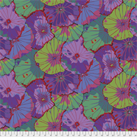 Kaffe Fassett QBGP-007 Lotus Leaf Wide Back Purple