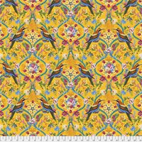 Free Spirit Fabrics PWOB 035 The Queens Jewels Small Gold