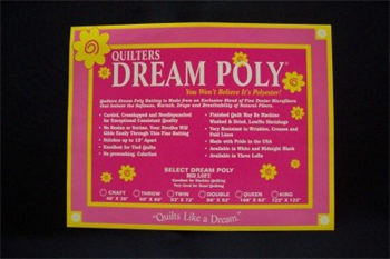 Quilters Dream Select Black Puff