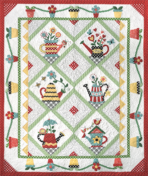 Sprinkled with love Block of the Month quilts (Blok van de maand quilts)