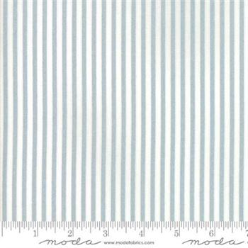MODA 55168-18M Vintage Holiday Stripe Silver/White metallic